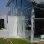 Murs rideaux - Garage Audi